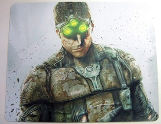 Splinter Cell mouse pad - Sam Fisher China, Splinter Cell, Mouse Pads, 2015, action, video game