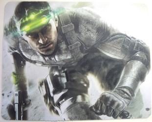 Splinter Cell mouse pad - Sam Fisher in a running crouch China, Splinter Cell, Mouse Pads, 2015, action, video game