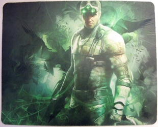 Splinter Cell mouse pad - Sam Fisher standing China, Splinter Cell, Mouse Pads, 2015, action, video game