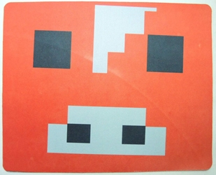 Minecraft mouse pad - Mooshroom head (red) China, Minecraft, Mouse Pads, 2015, adventure, video game