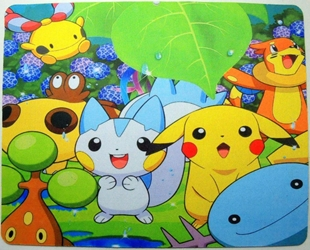 Pokemon mouse pad - Pikachu & friends China, Pokemon, Mouse Pads, 2015, animated, game