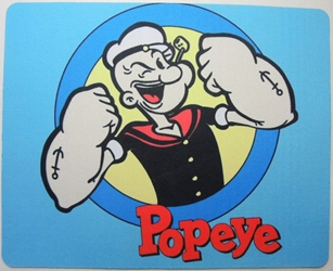 Popeye mouse pad - Popeye the Sailor Man China, Popeye, Mouse Pads, 2015, adventure, cartoon