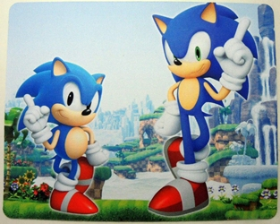 Sonic mouse pad - Two Sonics China, Sonic, Mouse Pads, 2015, animated, video game