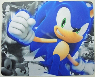 Sonic mouse pad - Sonic punching China, Sonic, Mouse Pads, 2015, animated, video game