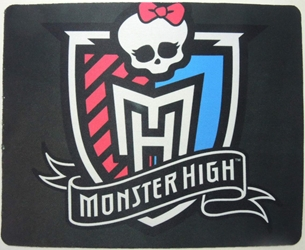 Monster High mouse pad - Monster High logo China, Monster High, Mouse Pads, 2015, teen, fashion, movie