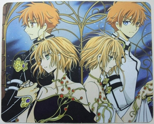 Tsubasa Reservoir Chronicle anime mouse pad - Syaoran & Sakura China, Tsubasa Reservoir Chronicle, Mouse Pads, 2015, fantasy, japan