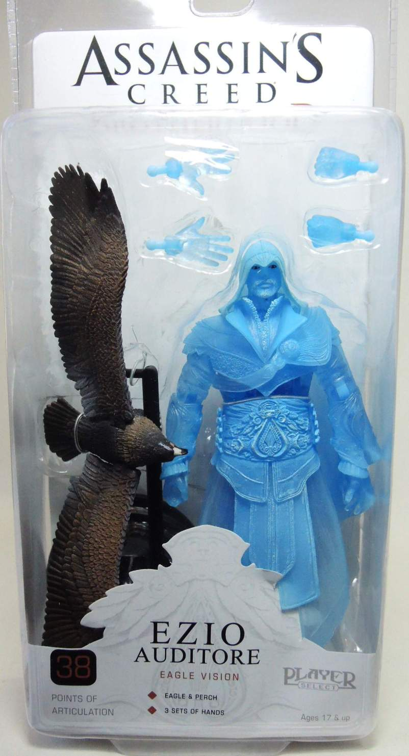 NECA Assassins Creed Brotherhood 7 inch Ezio Auditore Eagle Vision NECA, Assassin's Creed, Action Figures, 2012, warriors, video game