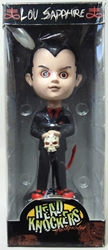Living Dead Dolls - Lou Sapphire Head Knocker by NECA NECA, Living Dead Dolls, Bobble-Heads, 2003, horror, halloween, toy