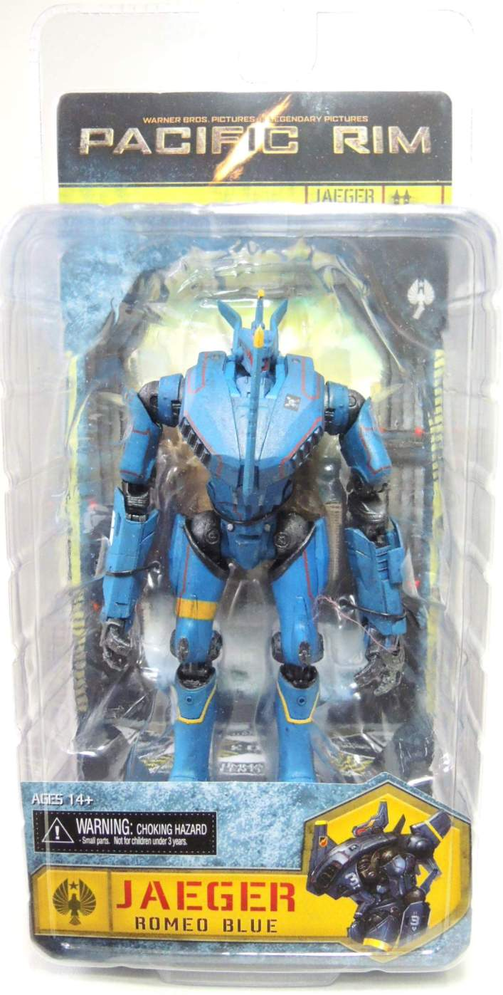 NECA Pacific Rim Series 5 - Jaeger Romeo Blue 7 inch NECA, Pacific Rim, Action Figures, 2015, scifi, movie