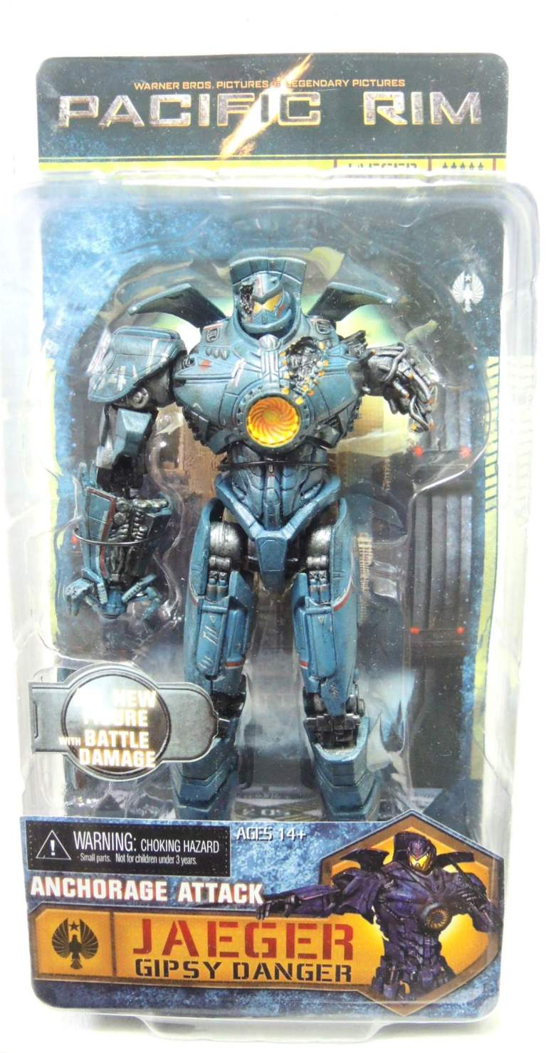 NECA Pacific Rim Series 5 - Jaeger Anchorage Attack Gipsy Danger