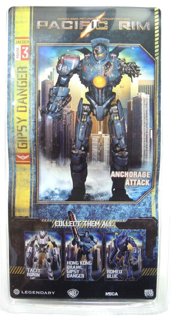 NECA Pacific Rim Series 5 - Jaeger Anchorage Attack Gipsy Danger - 8143-8142CCVFAU
