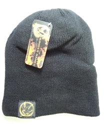 NECA Hunger Games Slouch Beanie (black snow hat) NECA, Hunger Games, cosplay, 2012|Color~black, scifi, movie