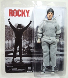 NECA Rocky 8 inch Clothed Figure - Rocky in Sweatsuit