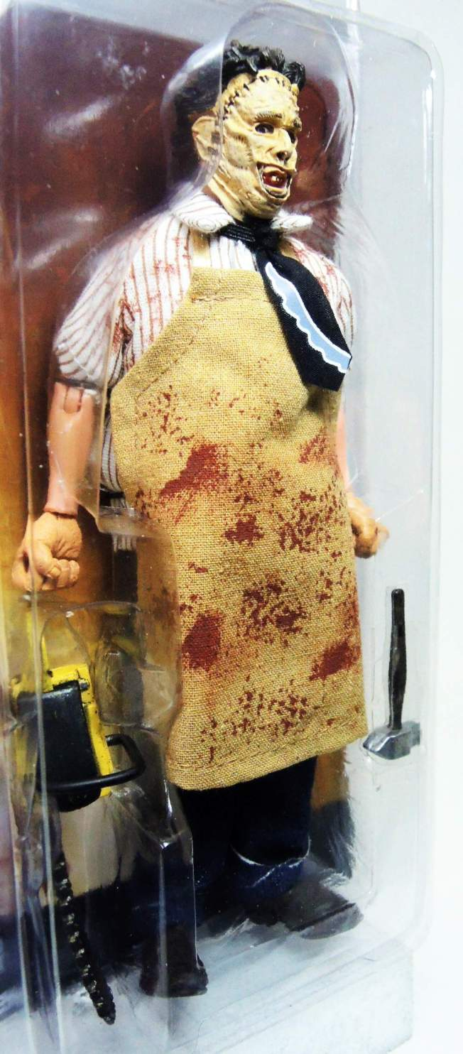 NECA Texas Chainsaw Massacre  8 inch Clothed Figure - Leatherface - 8182-8181CCVMYT