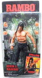 NECA Rambo First Blood 7 inch Figure - John J Rambo NECA, Rambo, Action Figures, 2014, military, movie