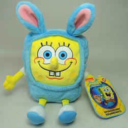 SpongeBob Squarepants 7 inch plush - SpongeBunny Squarepants Just Play, Sponge Bob, Plush, 2015, animated, tv show