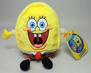SpongeBob Squarepants 7 inch plush - SpongeBob in Egg Costume Just Play, Sponge Bob, Plush, 2015, animated, tv show