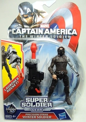 Captain America 4 inch Figure - Precision Strike Winter Soldier Hasbro, Captain America, Action Figures, 2013, superhero, movie