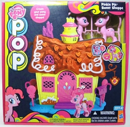 My Little Pony Pop Pinkie Pie Sweet Shoppe Playset Hasbro, My Little Pony, Littlest Pet Shop, 2014, cute animals