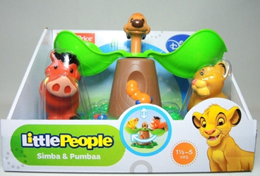 Fisher-Price Little People Disney Movie Moments - Simba & Pumbaa