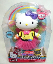 Hello Kitty Neon Fairy Glitter Doll - 12 inch tall Blip Toys, Hello Kitty, Dolls, 2014, animated, japan