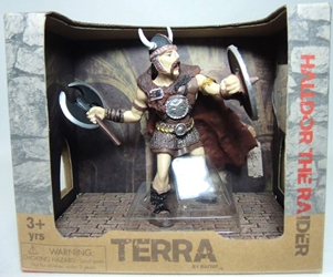 Terra Warrior Figure - Halldor the Raider Maison Joseph Battat, Terra, Action Figures, 2014, fantasy