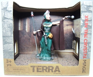 Terra Warrior Figure - Xiun the Crystal Mage Maison Joseph Battat, Terra, Action Figures, 2014, fantasy