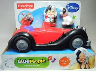 Fisher-Price Little People Disney - Cruella de Vil