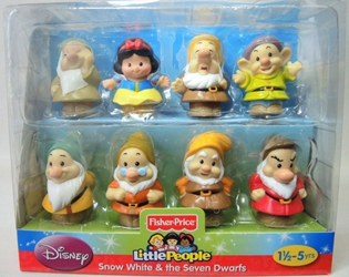 Fisher-Price Little People Disney - Snow White & the Seven Dwarfs Fisher-Price, Little People, Preschool, 2012, kidfare
