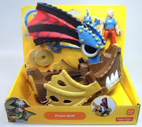 Fisher-Price Imaginext - Pirate Skiff