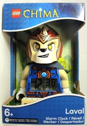 Lego Legends of Chima Alarm Clock - Lavel Lego, Legends of Chima, Legos & Mega Bloks, 2013|Color~blue|Color~tan, adventure