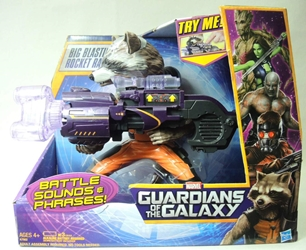 Guardians of the Galaxy - Big Blasting Rocket Raccoon Hasbro, Guardians of the Galaxy, Action Figures, 2013, scifi, movie