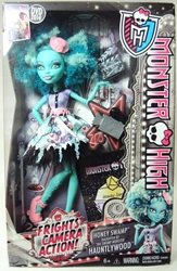 Monster High Frights Camera Action! Honey Swamp 11 inch doll Mattel, Monster High, Dolls, 2013, teen, fashion, movie