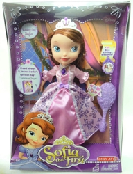 Sofia the First 10 inch doll - Wedding Day Sofia Mattel, Sofia the First, Dolls, 2013, animated