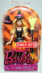 Barbie 2014 Halloween 4 inch figure - Witch Costume