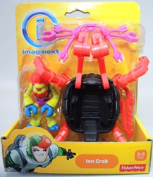 Fisher-Price Imaginext - Ion Crab Fisher-Price, Imaginext, Action Figures, 2013, adventure