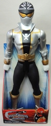 Power Rangers Super Megaforce 20 inch Figure - Silver Ranger Jakks, Power Rangers, Action Figures, 2014, scifi, tv show