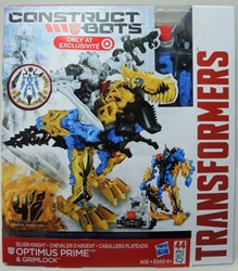 Transformers Construct Bots - Optimus Prime & Grimlock Hasbro, Transformers, Legos & Mega Bloks, 2013, scifi, movie