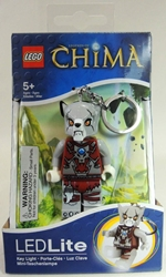 Lego Legends of Chima LED Lite keychain - Worriz Lego, Legends of Chima, Keychains, 2013|Color~grey|Color~brown, adventure