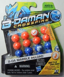 B-Daman Crossfire - Reload Set with 16 marbles (orange & blue) Hasbro, B-Daman, Action Figures, 2013, scifi, game