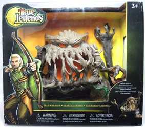 True Legends Tree Deluxe 8 inch Tree Warrior Troll Figure Toys R Us, True Legends, Action Figures, 2014, fantasy