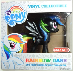 Funko My Little Pony Vinyl Collectible - Rainbow Dash (black) Funko, My Little Pony, Littlest Pet Shop, 2014, cute animals