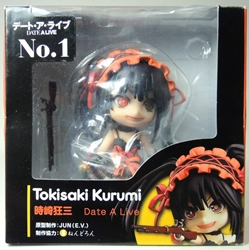 Date A Live cute 4 inch Figure - Tokisaki Kurumi No 1 (chinese reissue) China, Date A Live, Anime Figures, 2015, anime