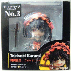 Date A Live cute 4 inch Figure - Tokisaki Kurumi No 3 (chinese reissue) China, Date A Live, Anime Figures, 2015, anime