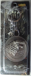 Game of Thrones Alloy Keychain - House Lannister Emblem
