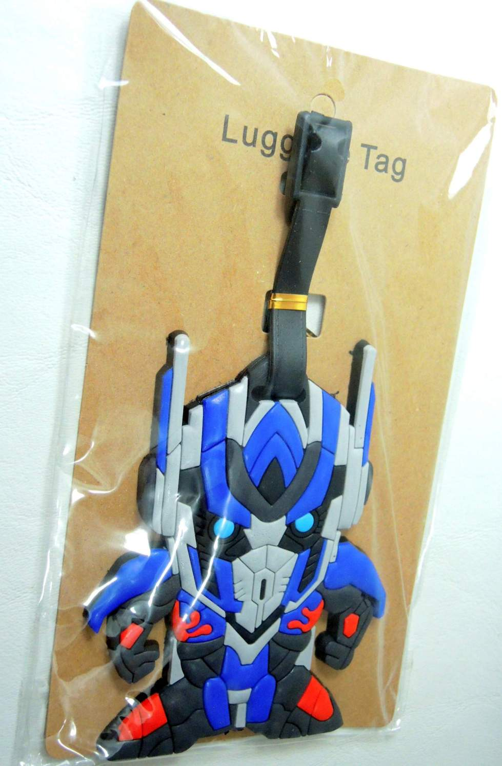 Transformers Optimus Prime Soft Plastic Luggage Tag - 8419-8414CCCVVY
