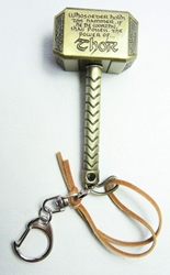 Avengers Thor Hammer Bronze Metal KeyChain China, Marvel, Keychains, 2015|Color~bronze, superhero, comic book
