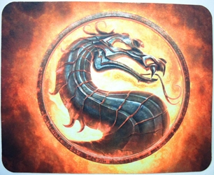 Mortal Kombat Logo mouse pad - Dragon Insignia China, Left 4 Dead, Mouse Pads, 2015, horror, halloween, video game