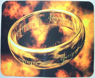 The Lord Of The Rings Movie Mouse Pad - The Ring China, Lord of the Rings, Mouse Pads, 2015, fantasy, movie