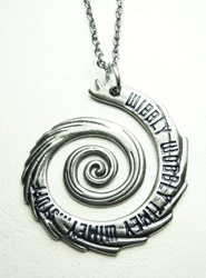 Dr Who Time-travel Vortex alloy pendant necklace China, Dr Who, Necklace, 2015|Color~silver, scifi, tv show